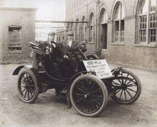 Thomas Edison Electric Cars