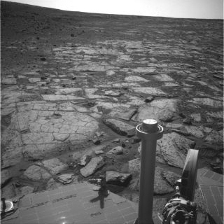 Opportunity Mars Rover Near Solander Point
