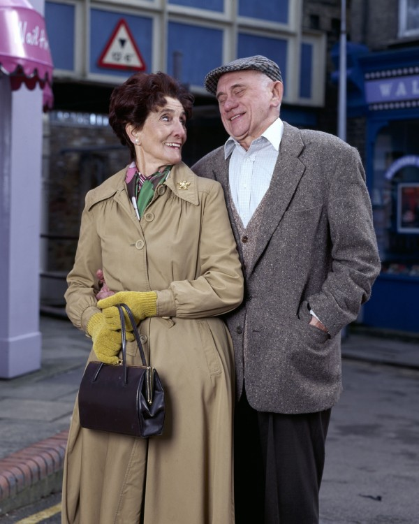 John Bardon played Dot's husband Jim Branning for 11 years (BBC)