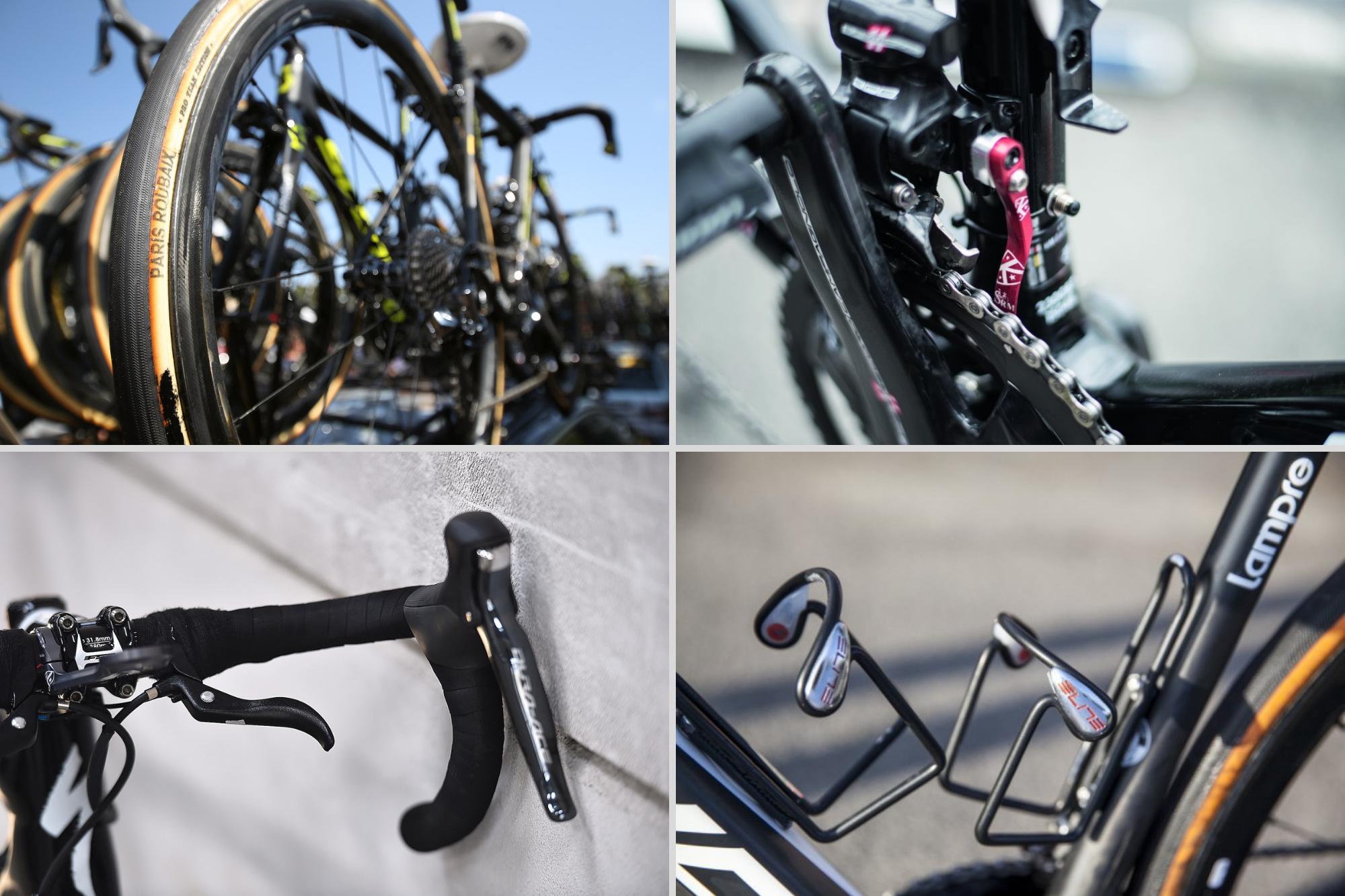11 ways the pros modify their bikes for Paris-Roubaix