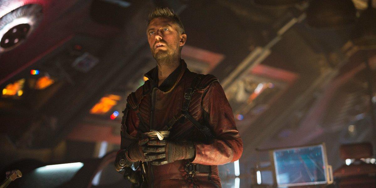 Kraglin (Sean Gunn) in Guardians of the Galaxy Vol. 2