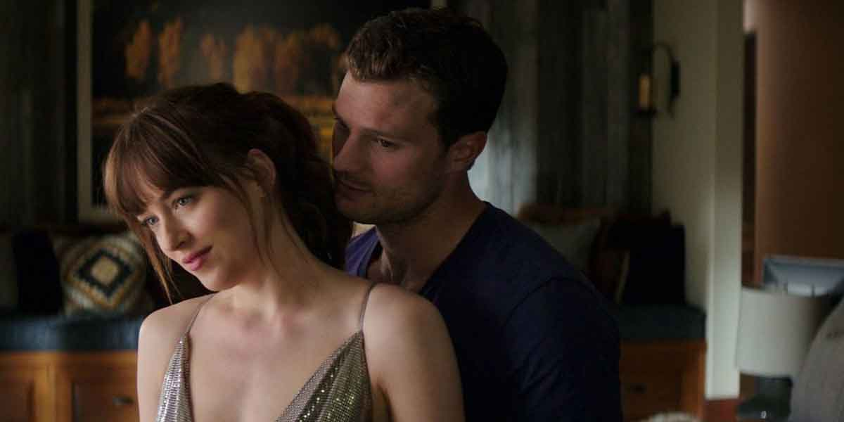 Fifty Shades Freed's Jamie Dornan and Dakota Johnson, final movie
