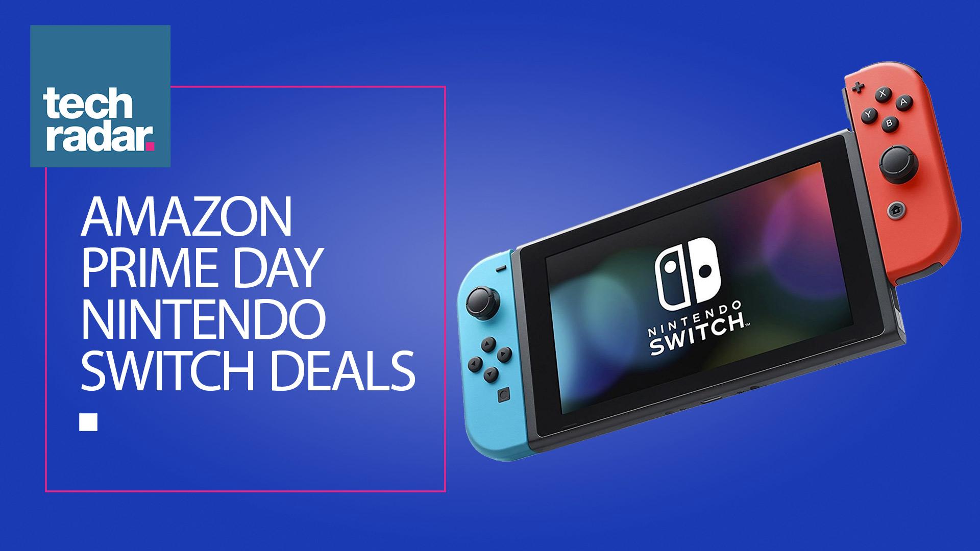 Amazon Prime Day Nintendo Switch Deals The Best Sales Still Live Techradar