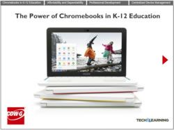 The Power of Chromebooks in K-12 Education