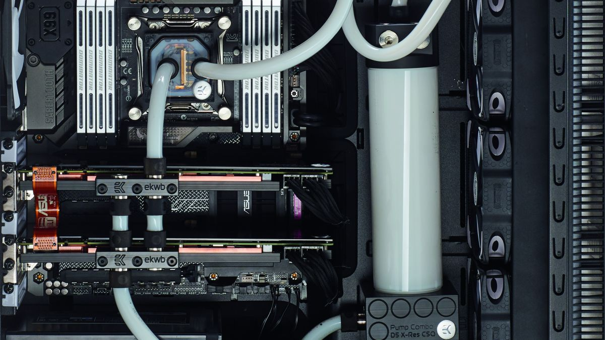 how to water cool your pc techradar