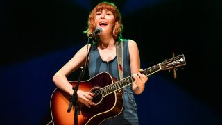 Molly Tuttle performs at War Memorial Auditorium during AMERICANAFEST 2019 on September 13, 2019 in Nashville, Tennessee.