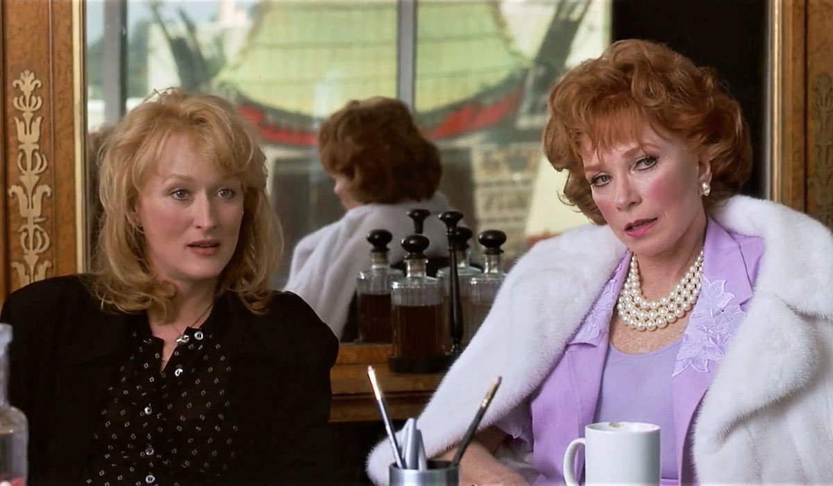 Postcards From the Edge Meryl Streep and Shirley MacLaine