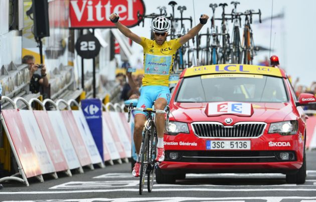 Vincenzo Nibali wins Stage 18 of the 2014 Tour de France