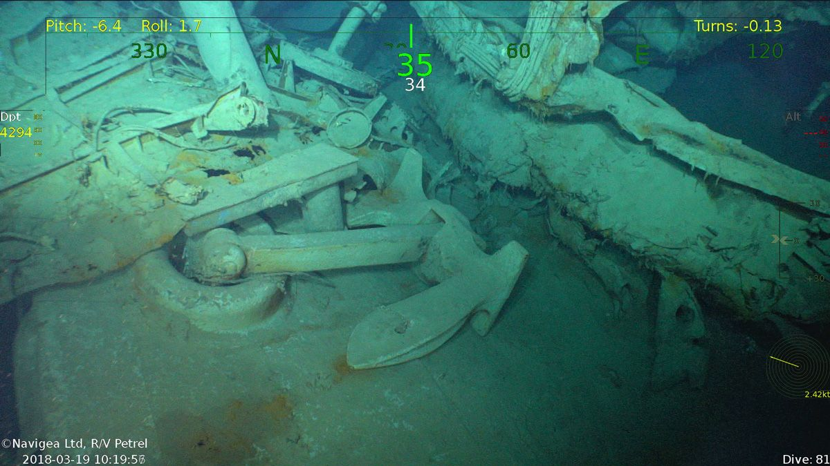 Photos: WWII Battleship 'USS Juneau' Discovered | Live Science