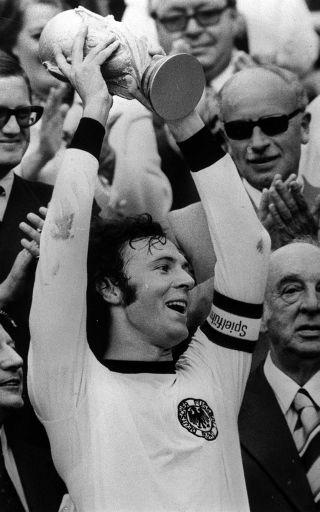 Franz Beckenbauer WORLD CUP FINAL 1974