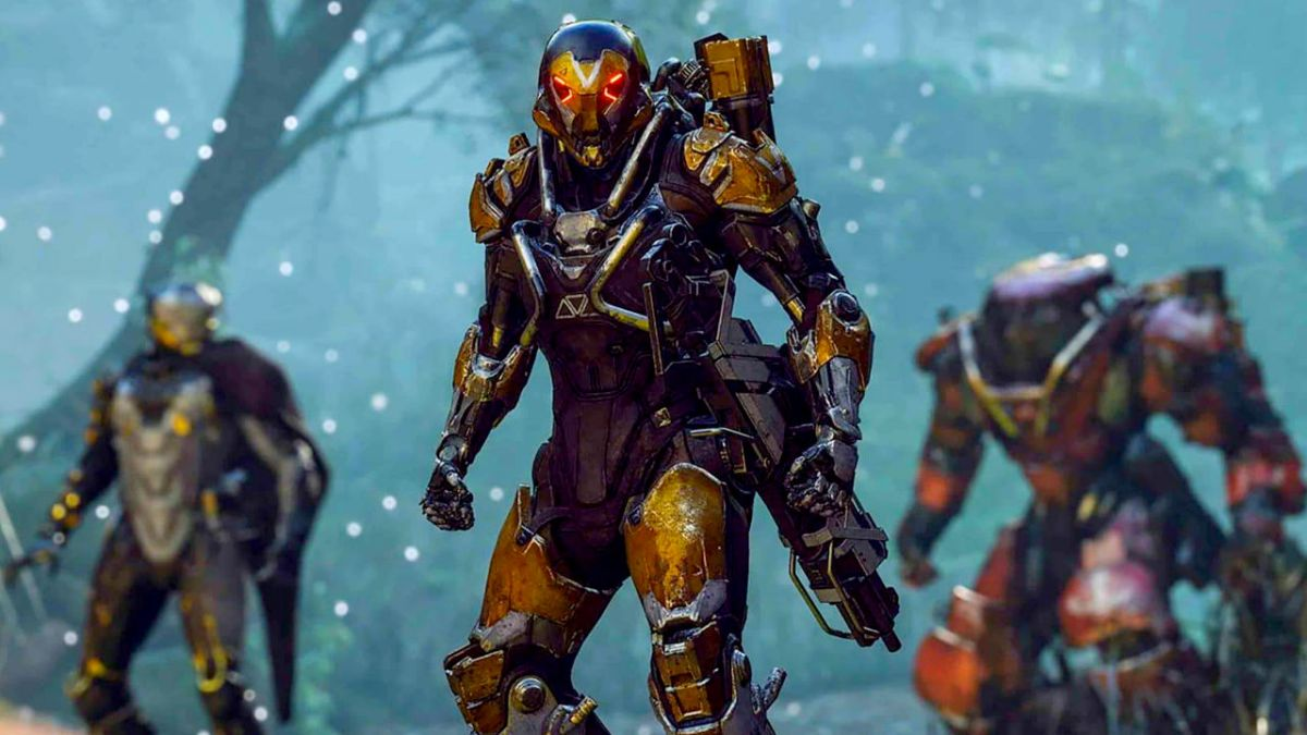Anthem Ranger Javelin Guide The Best Skills Abilities And Combos
