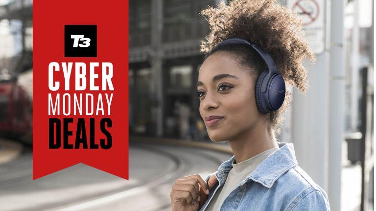 Over-ear wireless headphones Cyber Monday deals Bose Jabra B&O 2020