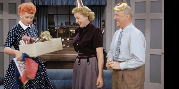 I Love Lucy Has Been Redone In Color For A Fun Cbs Special