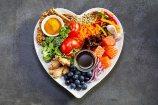 food in heart, heart healthy
