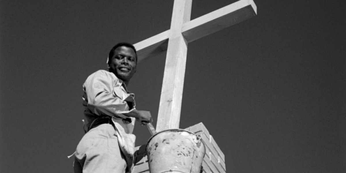 Sidney Poitier in Lillies of the Field