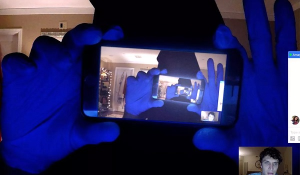 Unfriended: Dark Web recursive cell phone image