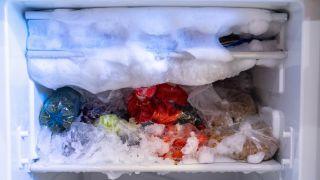 Freezer with Ice