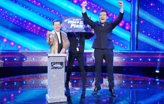 Dec and Stephen on Saturday Night Takeaway