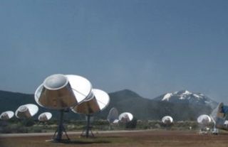 The SETI Institute's Allen Telescope Array in California seeks out radio transmissions from hypothetical aliens. Is there another way?