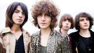 A press shot of temples