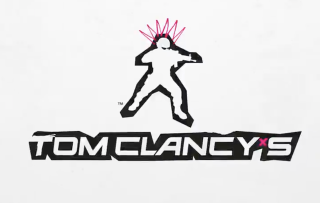 A new Tom Clancy logo features a pink neon crown on the soldier's helmet
