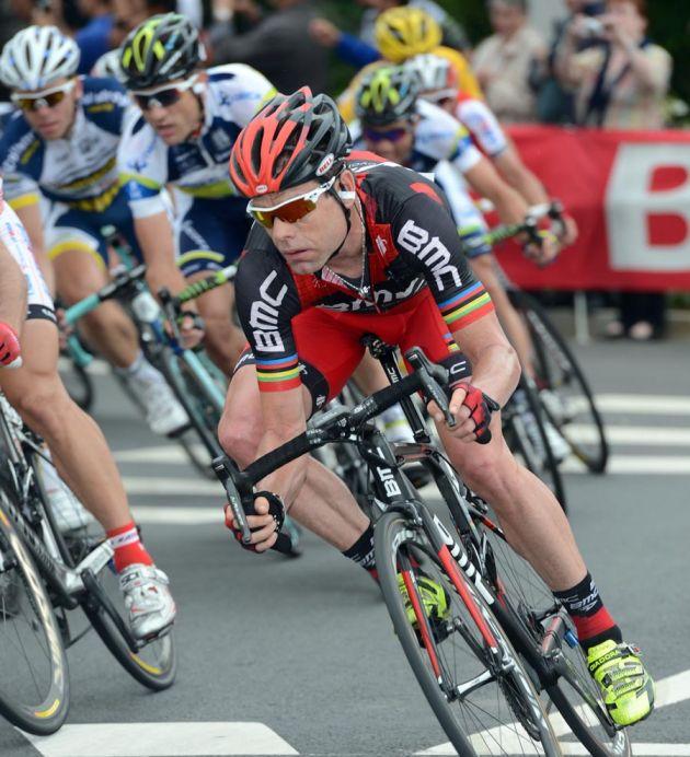 Cadel Evans, Tour de France 2012, stage three