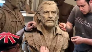 The sculpture of Lemmy is looking to raise funds