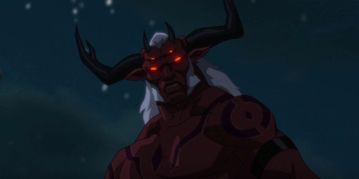 Jon Bernthal as Trigon Justice League vs. Teen Titans