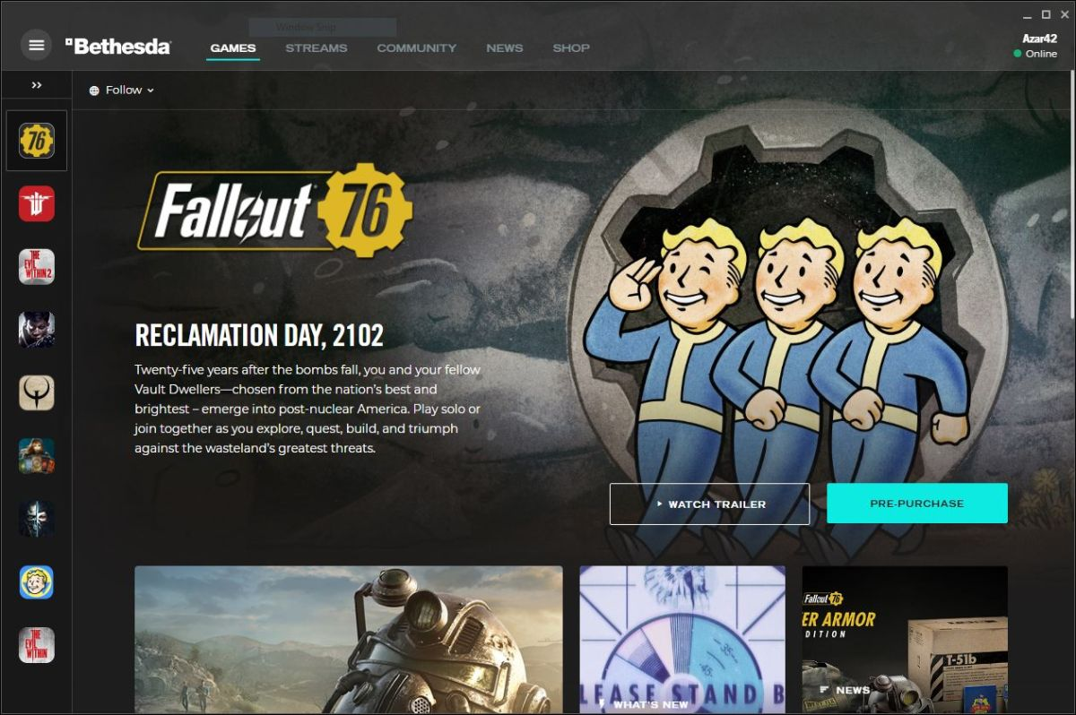 Fallout 76 has a lot to prove as it leaves Steam behind