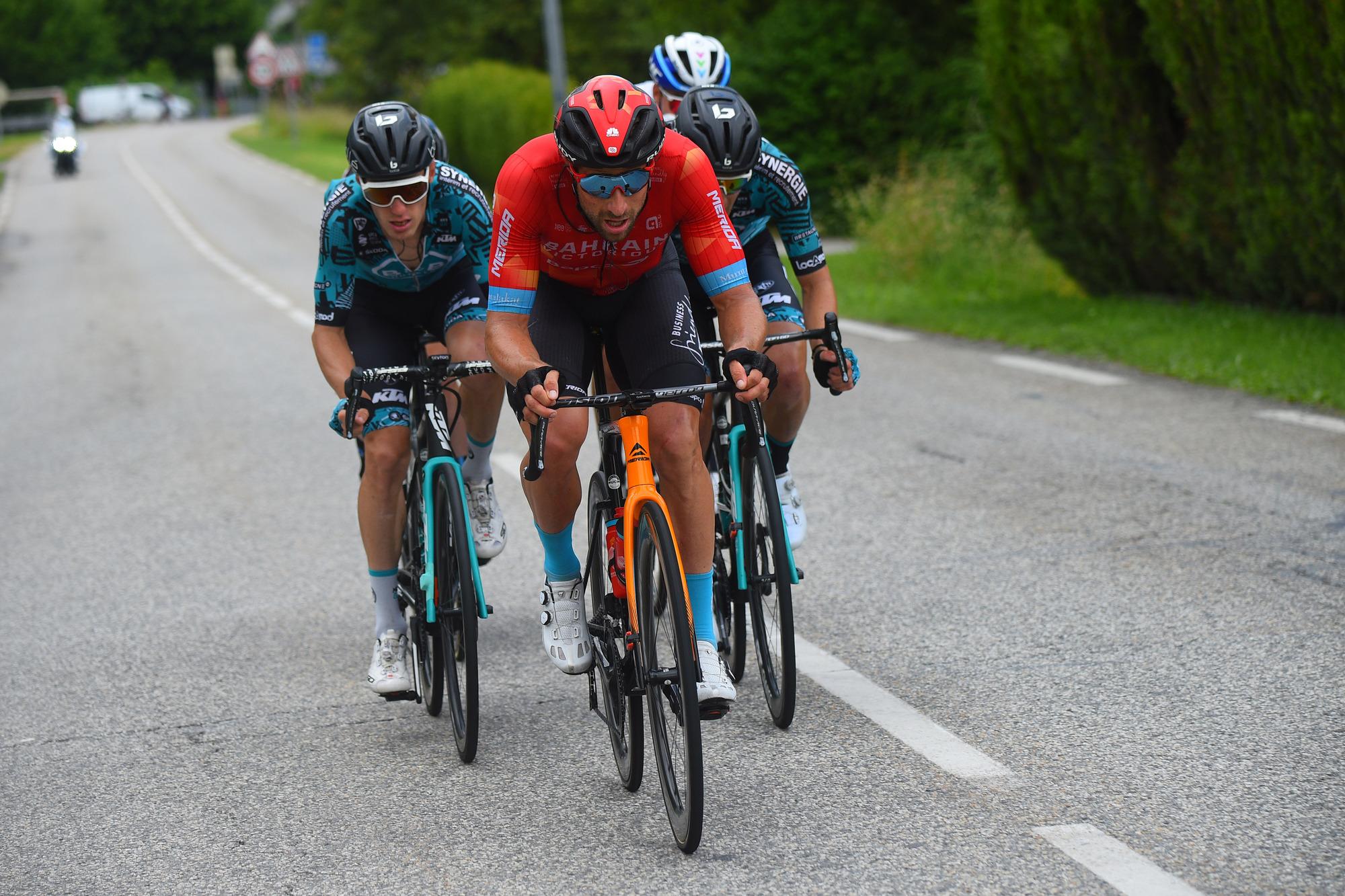 Criterium du Dauphine 2021 - 73rd Edition - 7th stage Saint-Martin-le-Vinoux - La Plagne 171.1 km - 05/06/2021 - Marco Haller (AUT - Bahrain Victorious) - photo Dario Belingheri/BettiniPhoto©2021