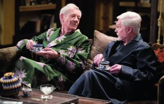 Freddie and Stuart (Ian McKellen and Derek Jacobi) are back for one final episode of the ITV sitcom Vicious