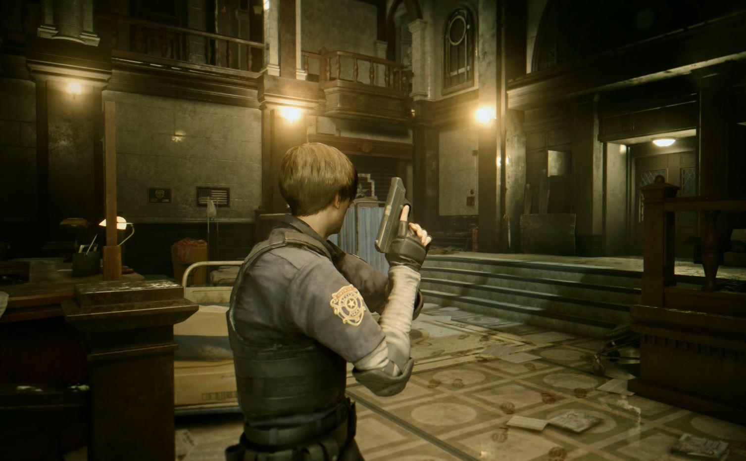 Resident Evil 2 Remake Looks Even More Horrifying With Raytracing Pc Gamer