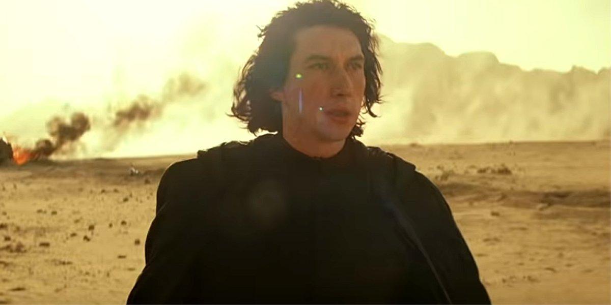 "Adam Driver as Kylo Ren in Star Wars: The Rise of Skywalker ""She"" TV spot"