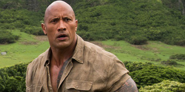 The Rock Jumanji: Welcome to the Jungle