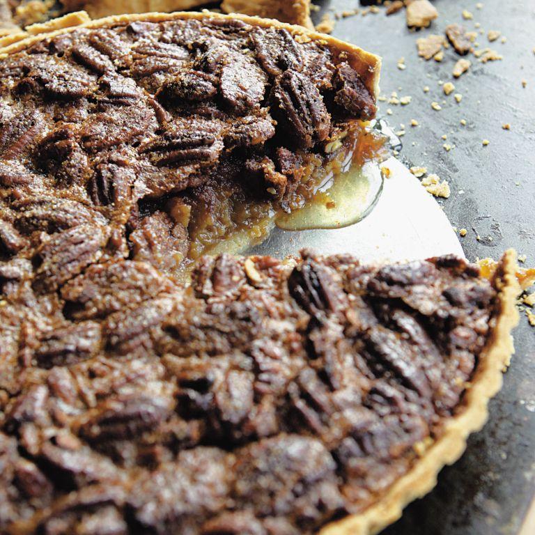 James Martin's Pecan Pie recipe-pie recipes-recipe ideas-new recipes-woman and home