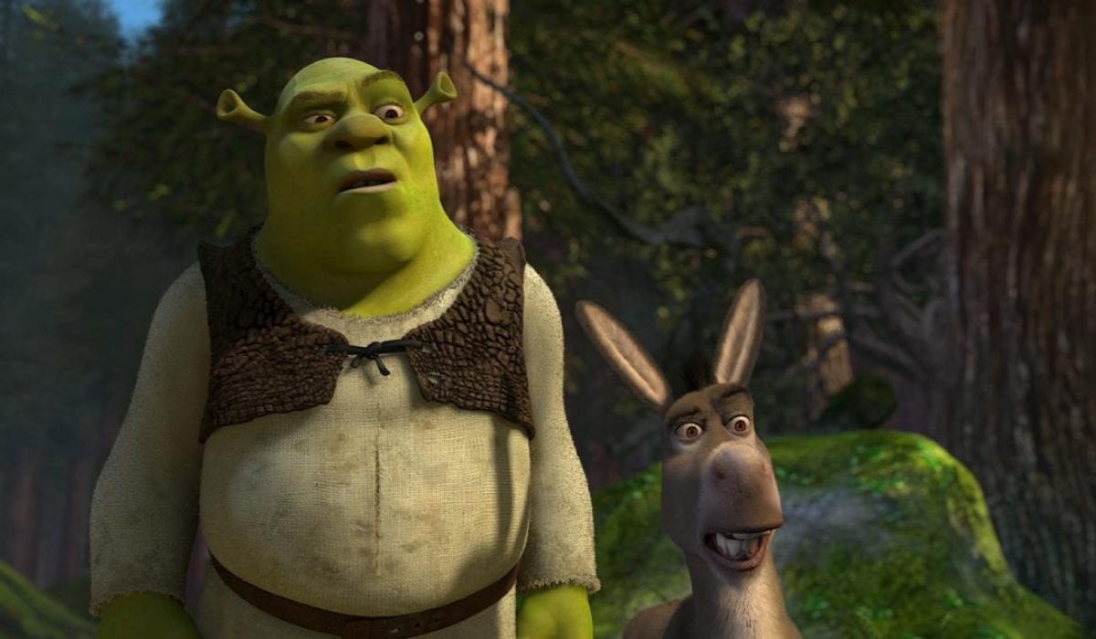 Shrek and Donkey in 2001's Shrek