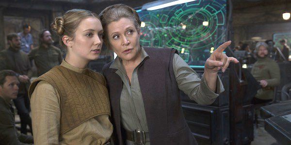 New Star Wars: The Rise Of Skywalker Rumor Claims Billie Lourd Is Carrie Fisher's Stand-In