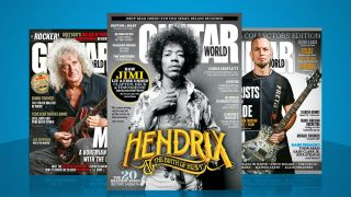 Images of Future's guitar magazines