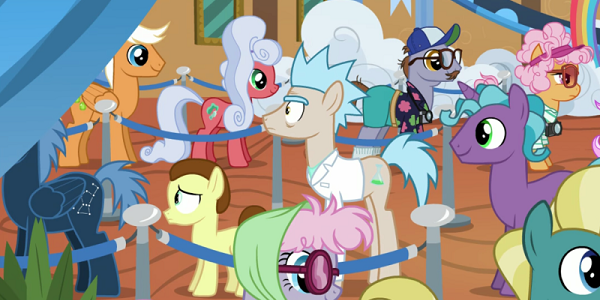 Rick and Morty My Little Pony: Friendship Is Magic Discovery Family