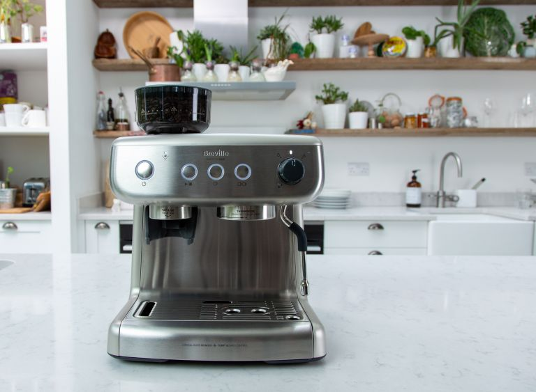Breville Barista Max espresso machine review by Real Homes