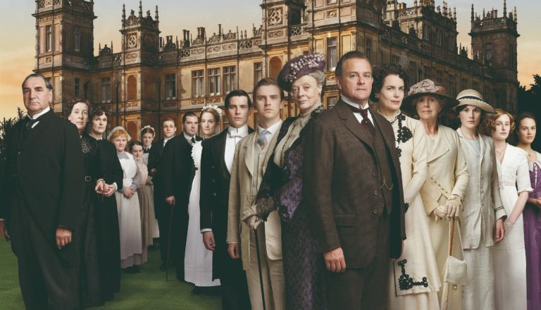 """Created by Oscar-winning writer Julian Fellowes (Gosford Park), """"Downton Abbey"""" depicts the lives of the noble Crawley family and the staff who serve them, set at their Edwardian country house in 1912."""