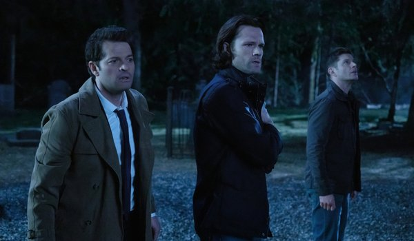 supernatural season 14 finale cemetery castiel sam dean the cw