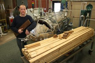 research in action, nsf, wood thermal modification