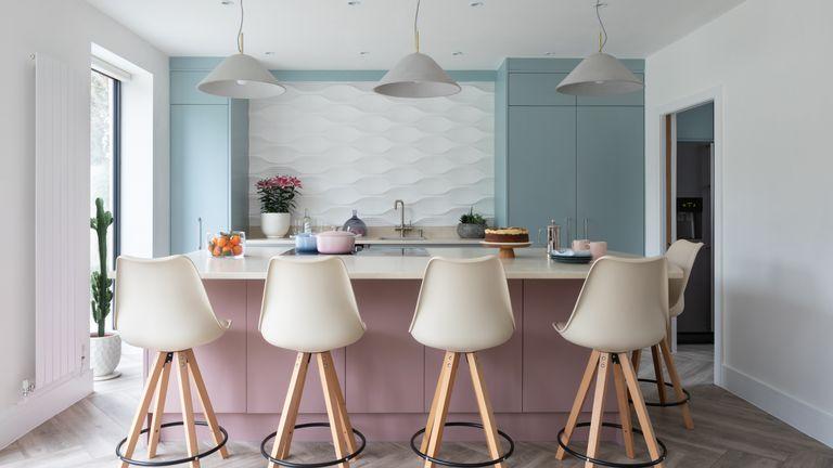 KUsed Kitchen Exchange pastel kitchen makeover