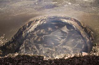 Halema'uma'u crater lava lake