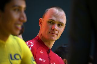 Chris Froome at the 2019 Saitama Tour de France criterium
