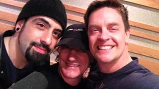 Rob Caggiano, Brian Johnson and Jim Breuer