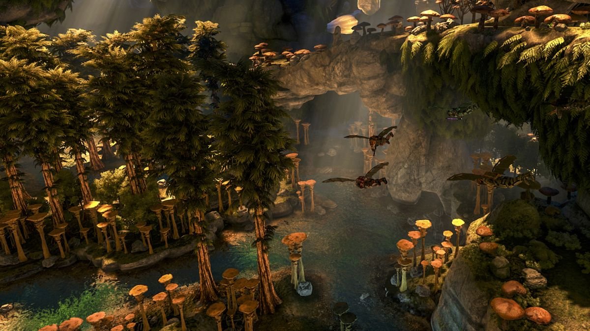 Ark: Aberration's new movement systems light up the subterranean
