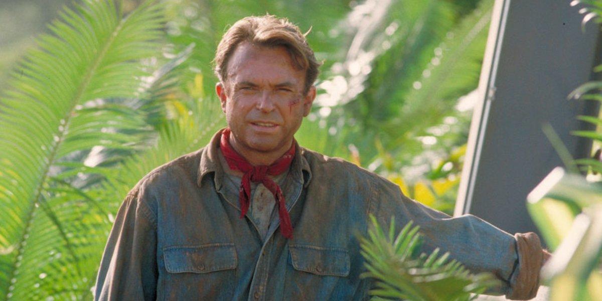 Sam Neill as Alan Grant in Jurassic Park