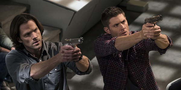 Jared Padalecki and Jensen Ackles as Sam and Dean Winchester in Supernatural